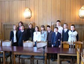 Uczestnicy II Wojewdzkiego Konkursu Humanistycznego