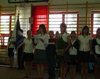 INAUGURACJA ROKU SZKOLNEGO 2008/2009 w Gimnazjum w Grabowie nad Prosną
