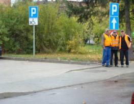 Parking przy ul. Klasytornej